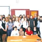 Урок мира под рук. Л.В. Калачиковой 8 мая 2009 года. 56-я школа г. Иванова