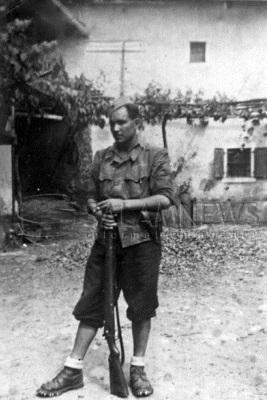 разведчик штаба 9-го корпуса Мехти Гусейнзаде