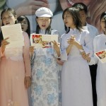 4_День города. Русские песни в исполнении вьетнамских студенток