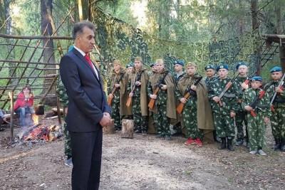 Абдул Азиз Мераджуддин проводит патриотическую работу с воспитанниками «Юнармии»